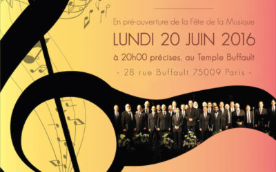 Concert on 20 June 2016 at Buffault